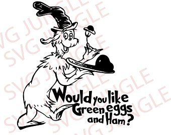 Green eggs and ham clipart black and white image royalty free download Green eggs and ham clipart black and white » Clipart Portal image royalty free download