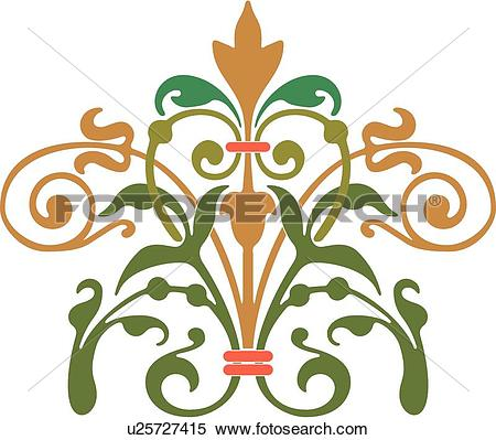 Green fancy hearts clipart vector download Clipart of Green heart with fancy design u25727415 - Search Clip ... vector download