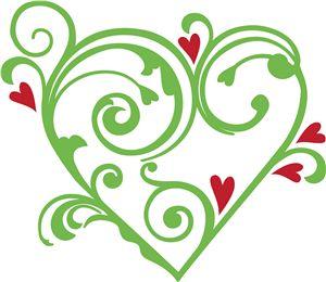 Green fancy hearts clipart clipart transparent 17+ images about HEARTS.. on Pinterest | Clip art, Paint cookies ... clipart transparent
