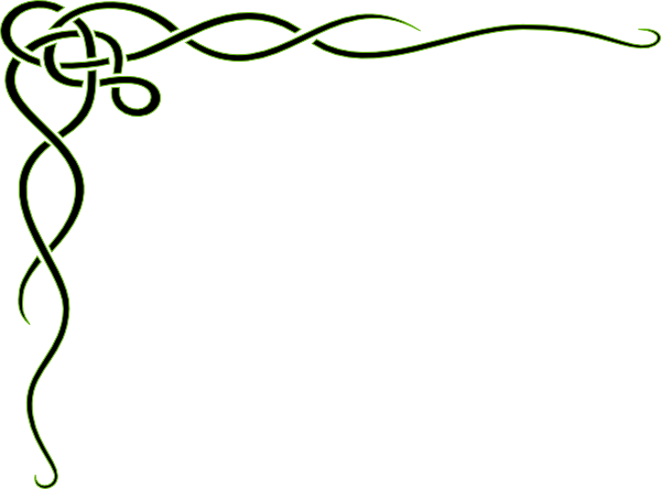 Green fancy line clipart banner royalty free library Curly Frame Clip Art at Clker.com - vector clip art online ... banner royalty free library