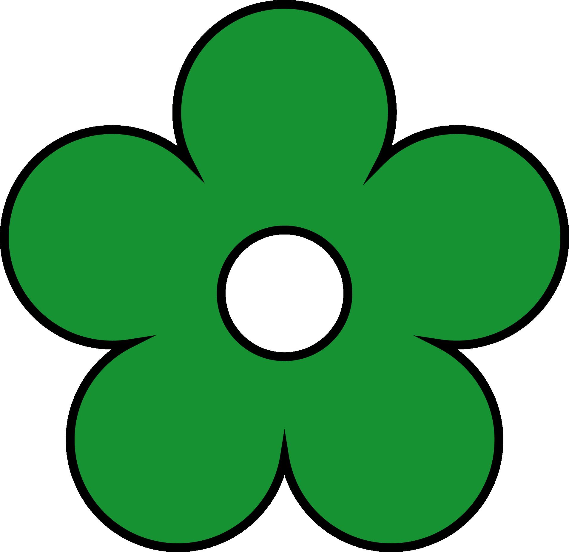 Green flower clipart banner download green-flower-png-clipart-01 - WallpaperalWallpaperal banner download