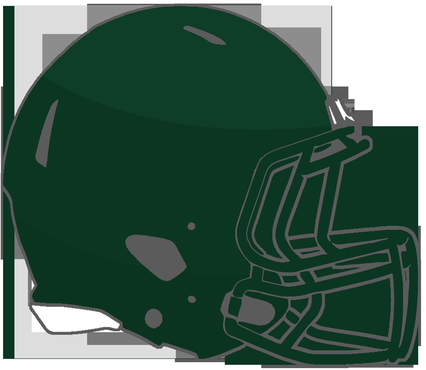 Green football clipart helmet against helmet graphic royalty free stock Mississippi High School Football Helmets: 1A graphic royalty free stock