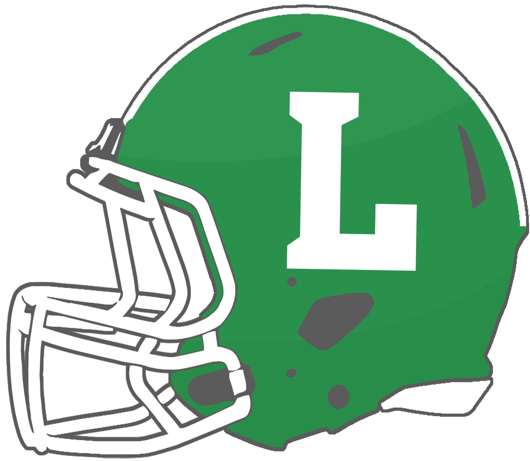 Green football helmet clipart banner transparent stock Mississippi High School Football Helmets: 2A banner transparent stock