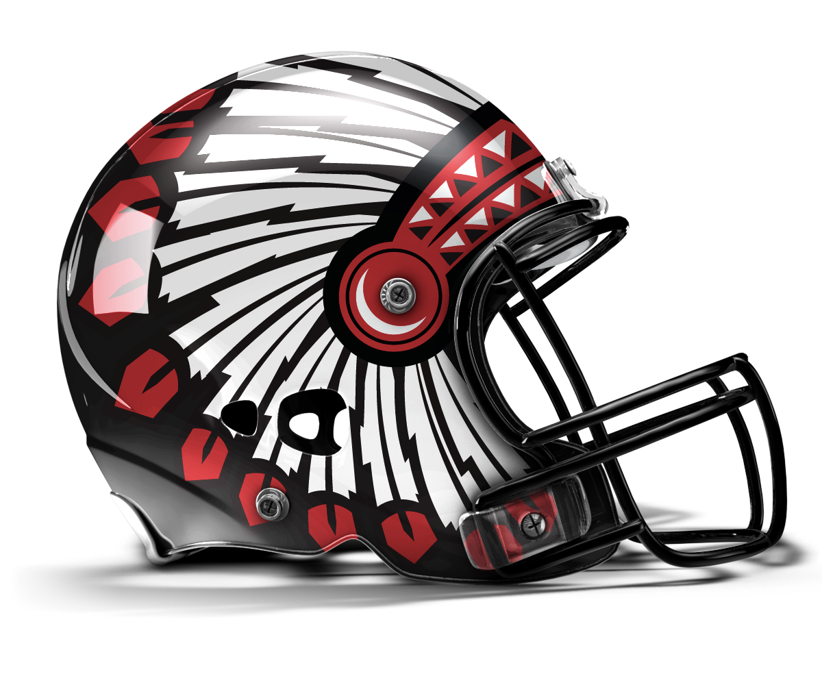 Panthers football helmet clipart image black and white download A buddy at work designed this mock Headdress Helmet for the Utes ... image black and white download