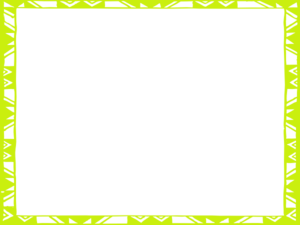 Green frame clipart vector freeuse library Yellow Green Frame Clip Art at Clker.com - vector clip art online ... vector freeuse library