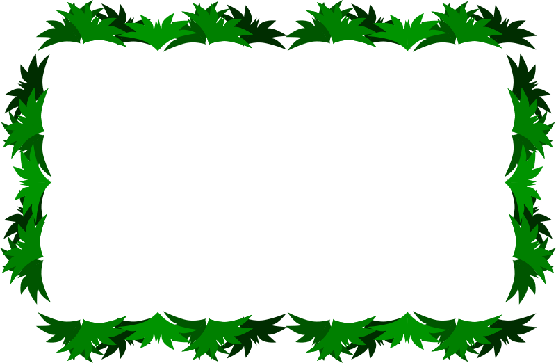 Green frame clipart vector freeuse library Free Clipart: Green Frame | aungkarns vector freeuse library