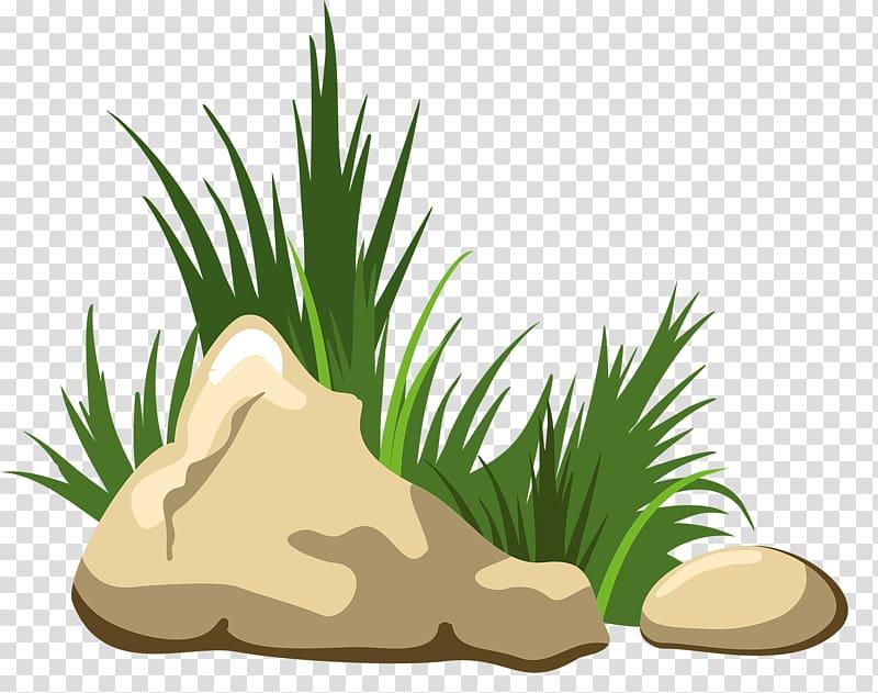 Rock illustration clipart graphic black and white download Rocks beside grasses illustration, Rock , Grass stone transparent ... graphic black and white download