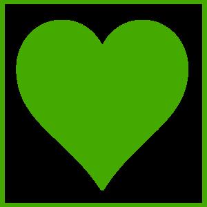 Green hearts clipart vector stock Green Heart Clip Art at Clker.com - vector clip art online ... vector stock