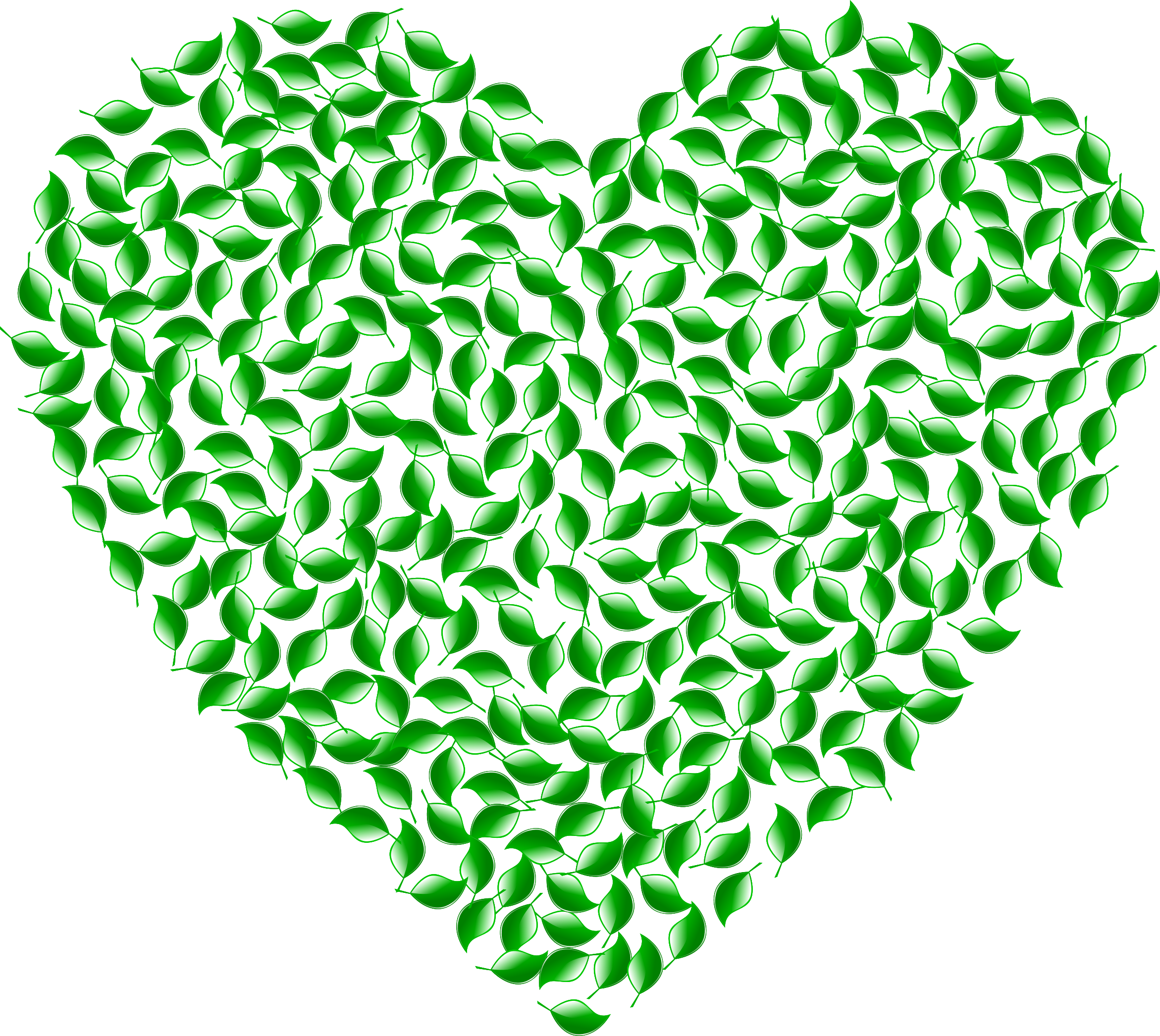 Green hearts clipart clip black and white stock Clipart - Green Heart clip black and white stock