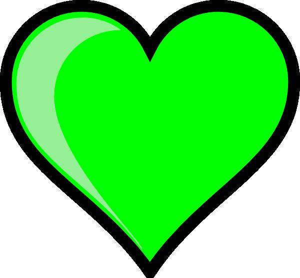 Green hearts clipart clip library Neon Green Bubble Heart Clip Art at Clker.com - vector clip art ... clip library