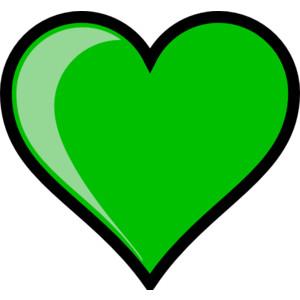 Green hearts clipart clip art transparent stock Green heart clipart - ClipartFest clip art transparent stock