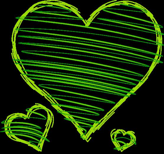Green hearts clipart clip art transparent library Green hearts clipart - ClipartFest clip art transparent library