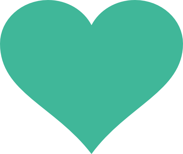 Green hearts clipart picture stock Green Heart Clip Art at Clker.com - vector clip art online ... picture stock