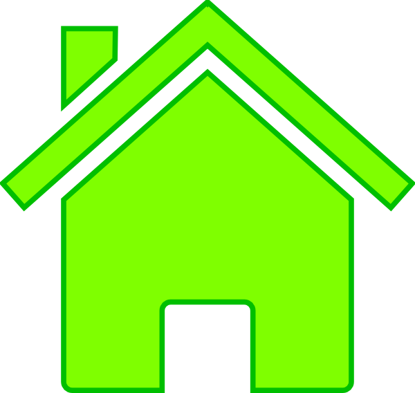 House for sale clipart clip art royalty free library Green House Clip Art at Clker.com - vector clip art online, royalty ... clip art royalty free library