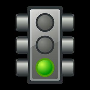 Green light clipart png transparent 5381 green light clip art free | Public domain vectors png transparent