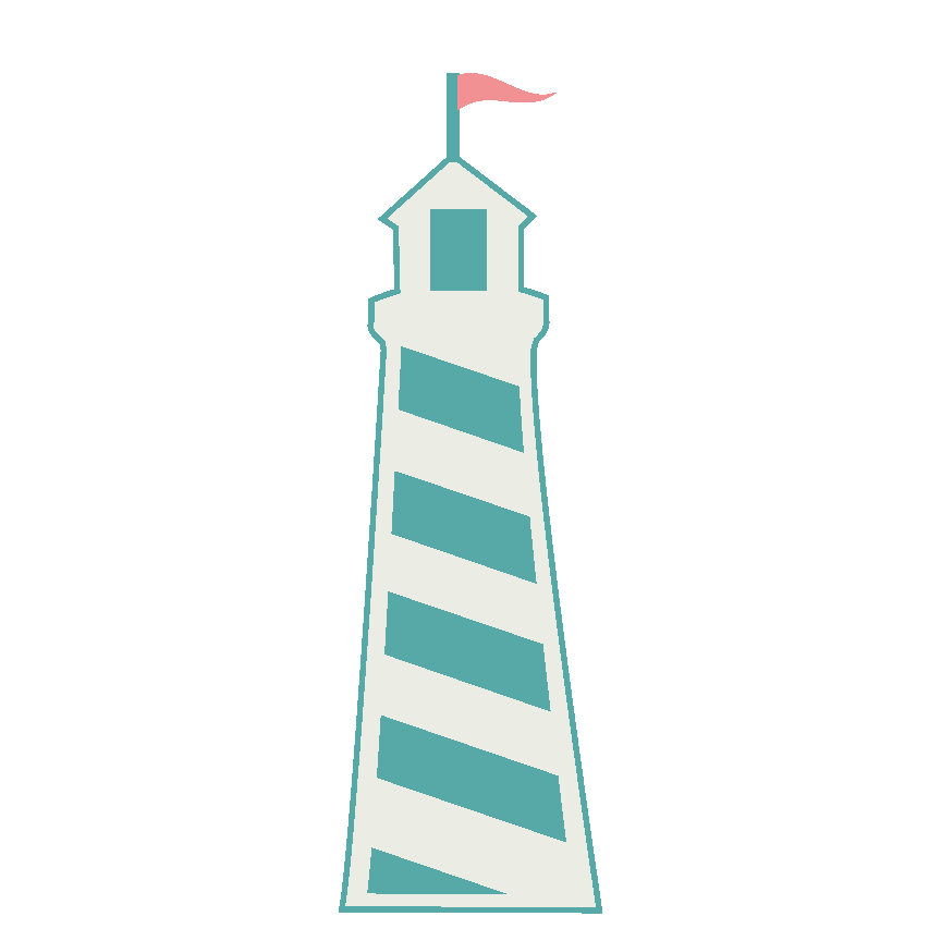 Green light house clipart graphic transparent stock Cute lighthouse clipart clipartsgram - Clipartable.com graphic transparent stock
