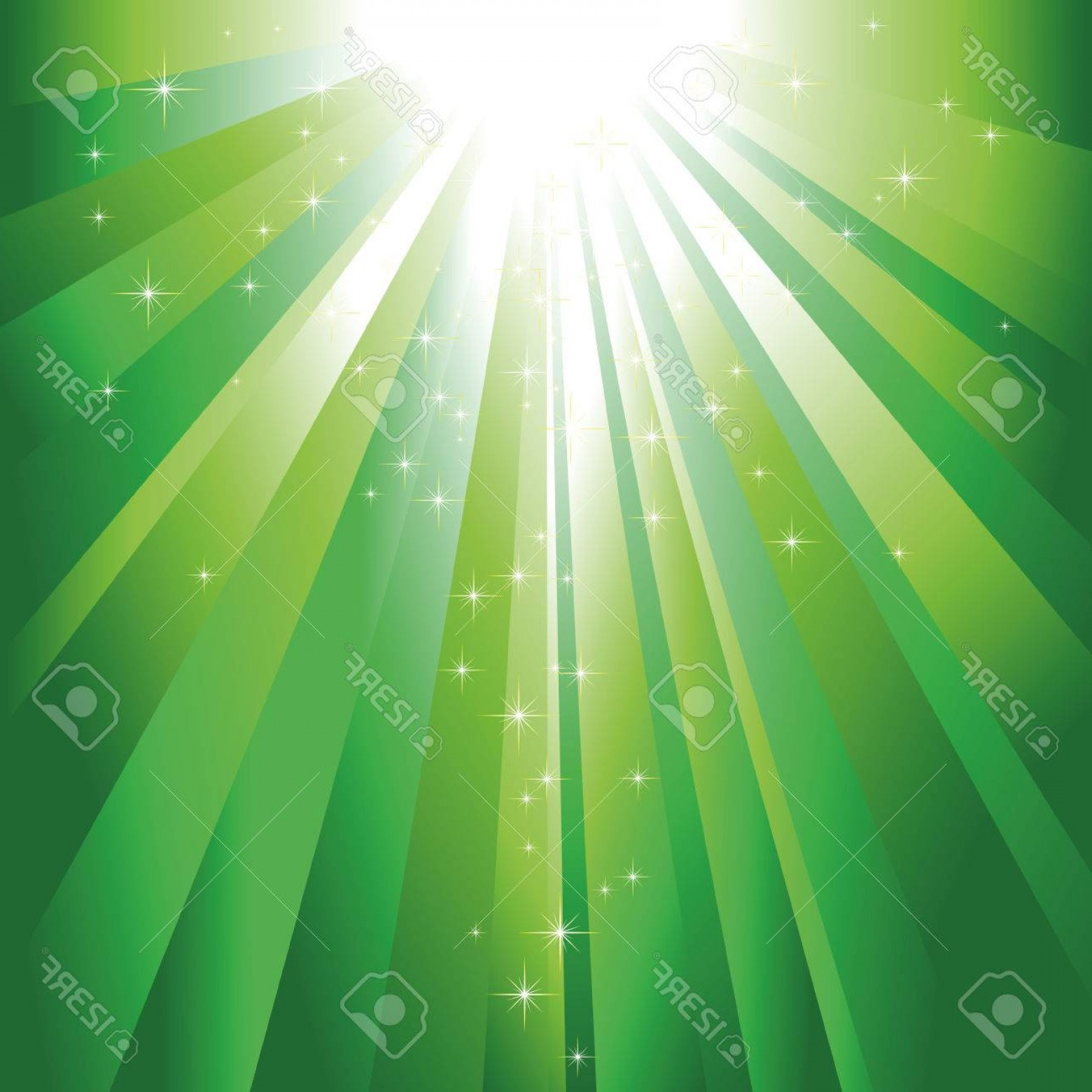 Green light ray jpeg clipart clip transparent Green Light Burst Vector   lamaison clip transparent