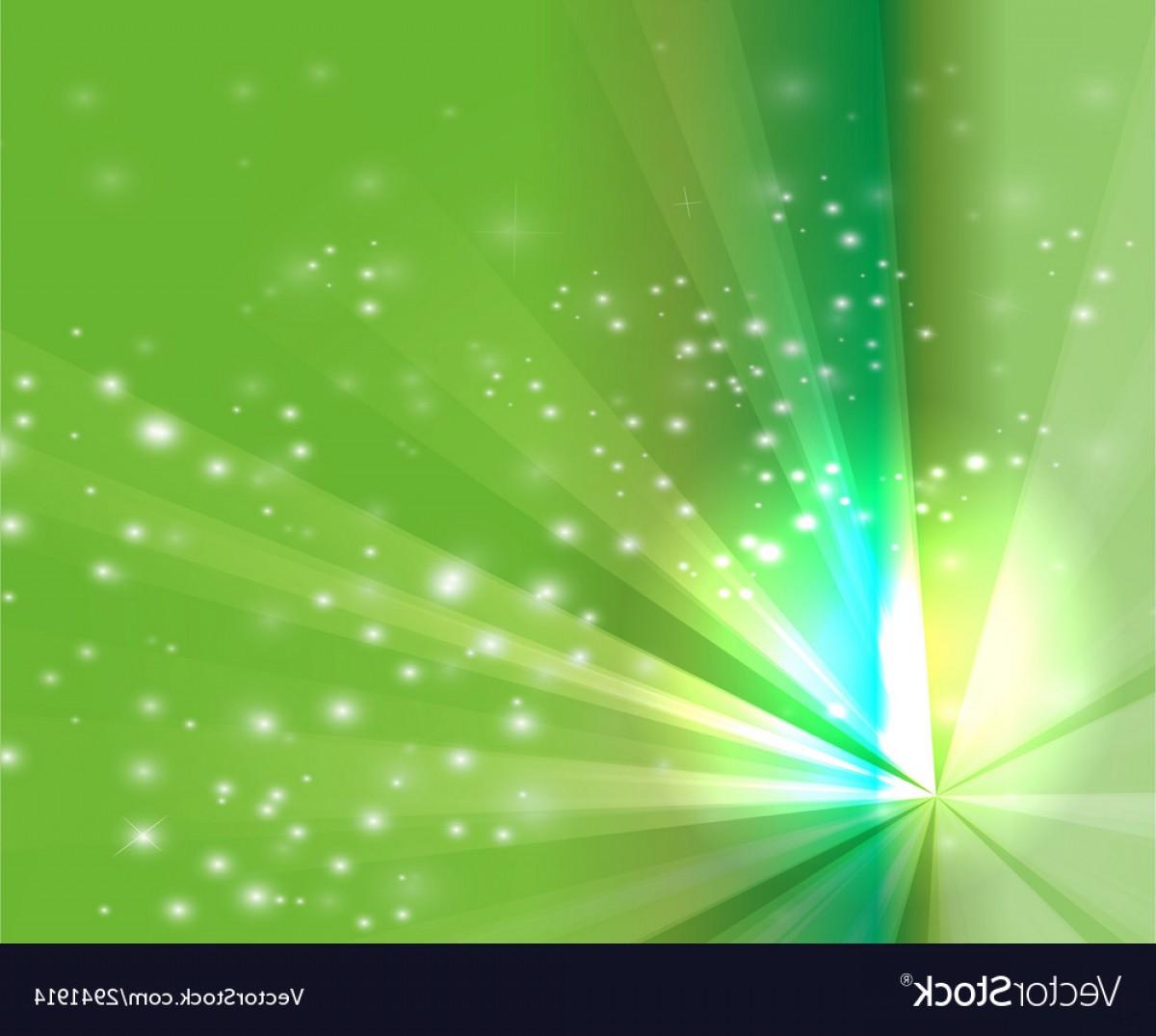 Green light ray jpeg clipart vector free Abstract Rays Burst Light On Green Background Vector   SOIDERGI vector free
