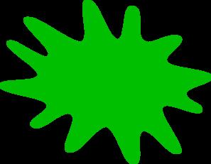 Green paint splash clipart vector freeuse download Green Paint Splat Clip Art at Clker.com - vector clip art online ... vector freeuse download
