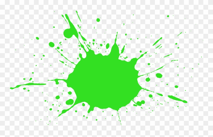 Green paint splash clipart svg royalty free download Red Clip Art Transprent - Green Paint Splatter Png Transparent Png ... svg royalty free download