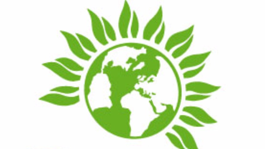 Green party clipart