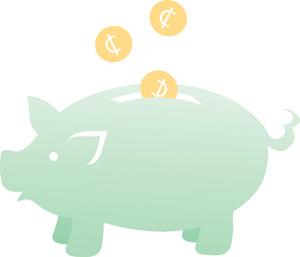 Green piggy bank clipart png transparent library Piggy cliparts png transparent library