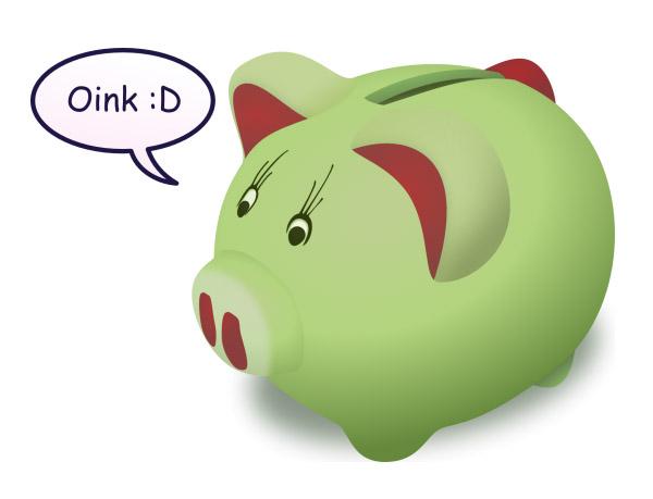 Green piggy bank clipart clipart transparent stock Green piggy bank clipart - ClipartFest clipart transparent stock
