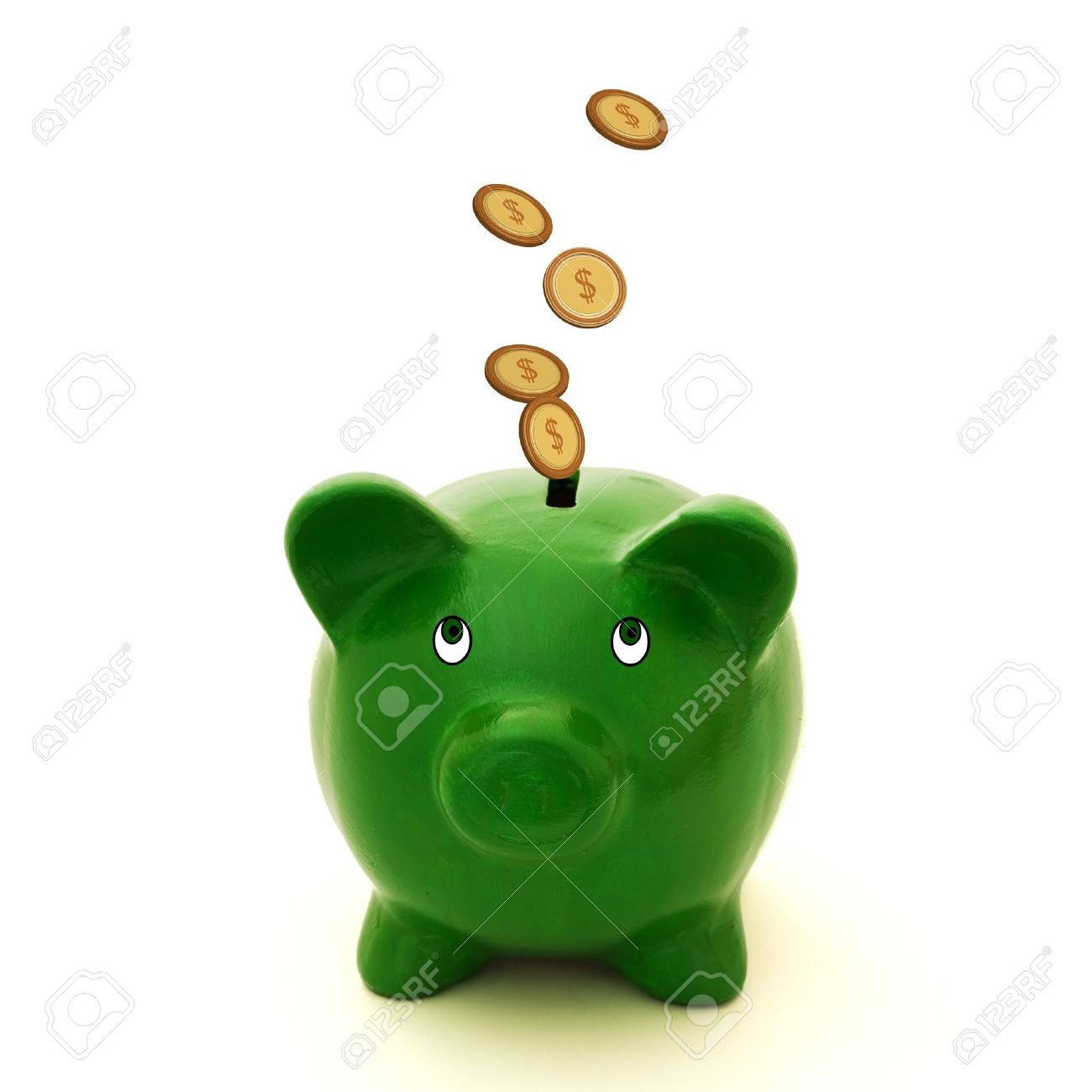 Green piggy bank clipart clip royalty free stock Green piggy bank clipart - ClipartFest clip royalty free stock