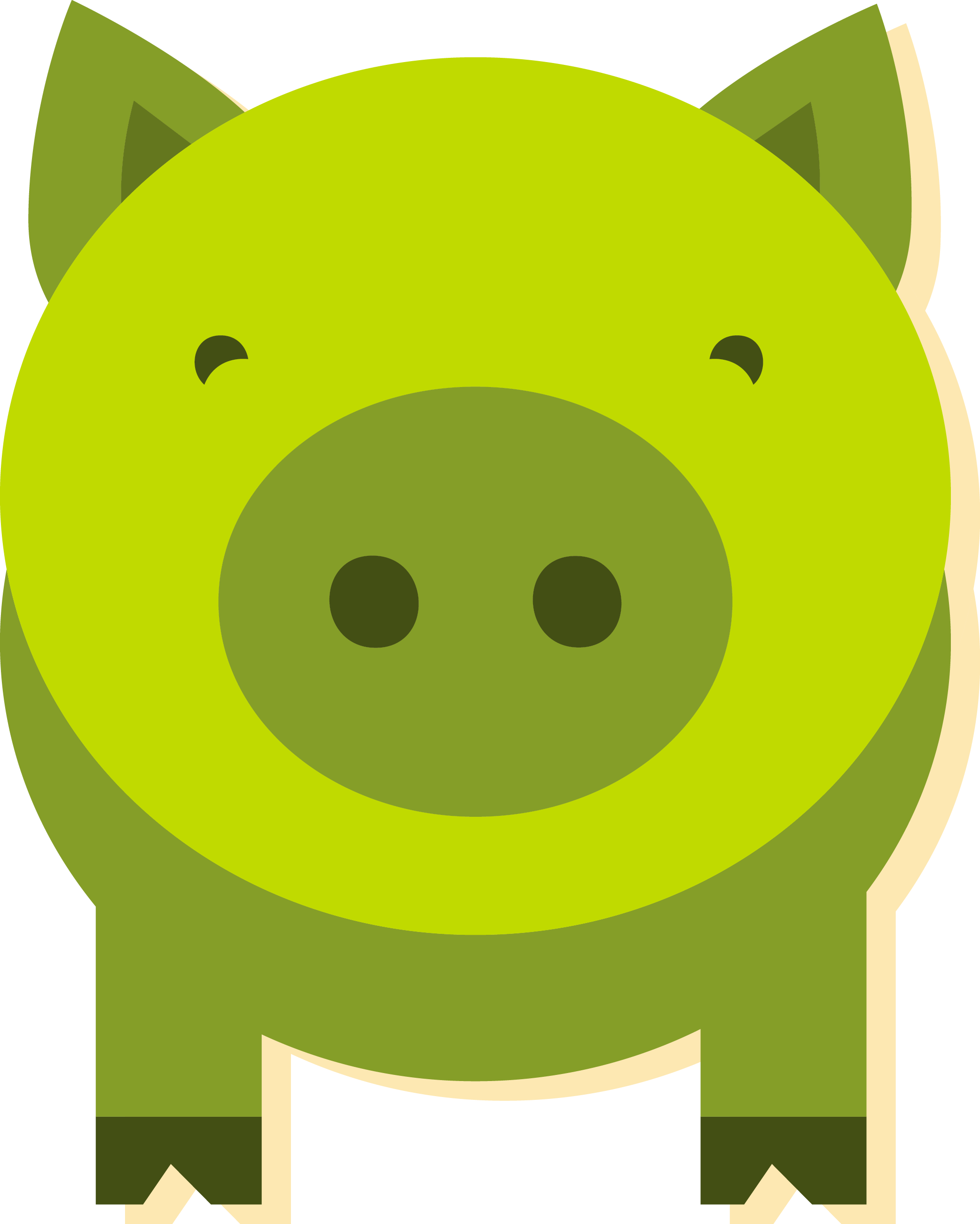 Green piggy bank clipart clipart royalty free library Domestic pig Green Clip art - Green piggy bank 2085*2603 transprent ... clipart royalty free library
