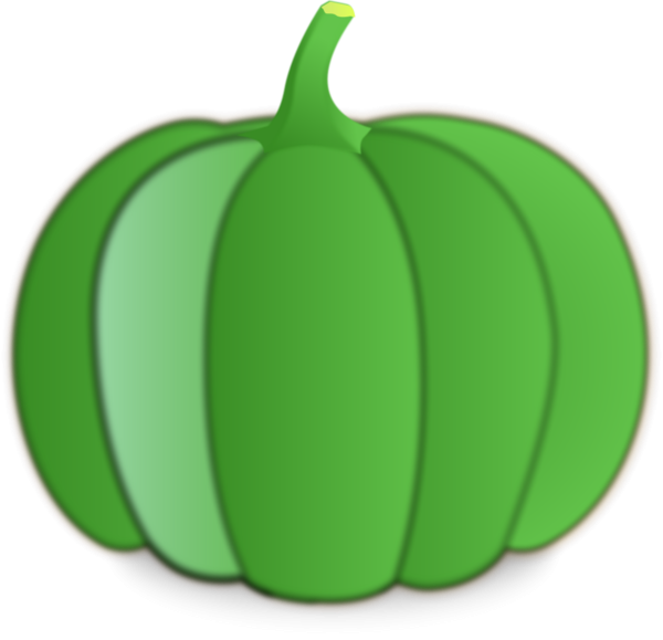 Green pumpkin clipart image royalty free library Green Pumpkin Clipart | cyberuse image royalty free library