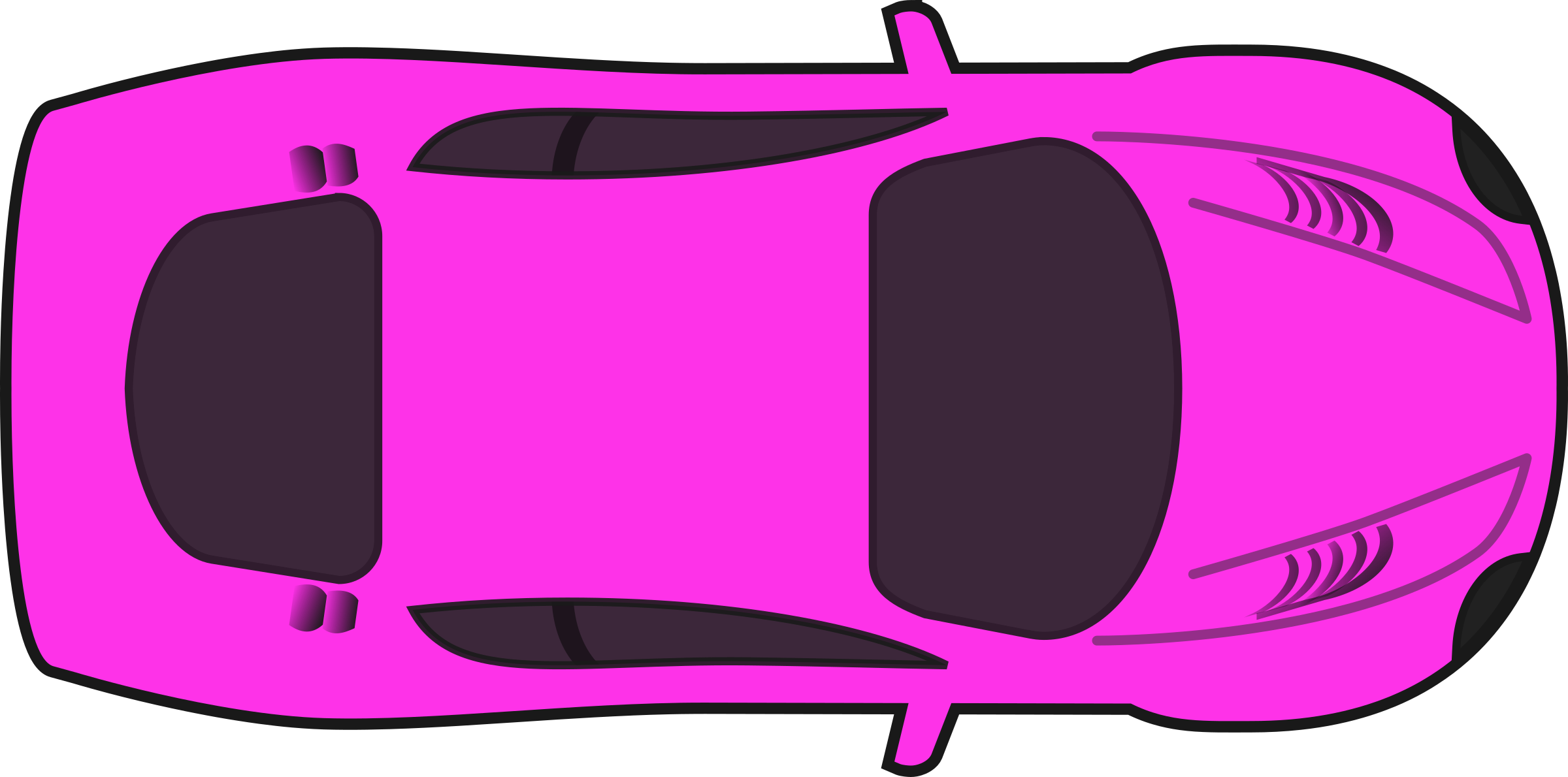 Green race car clipart clip art transparent library Pink Racing Car (Top View) Icons PNG - Free PNG and Icons Downloads clip art transparent library