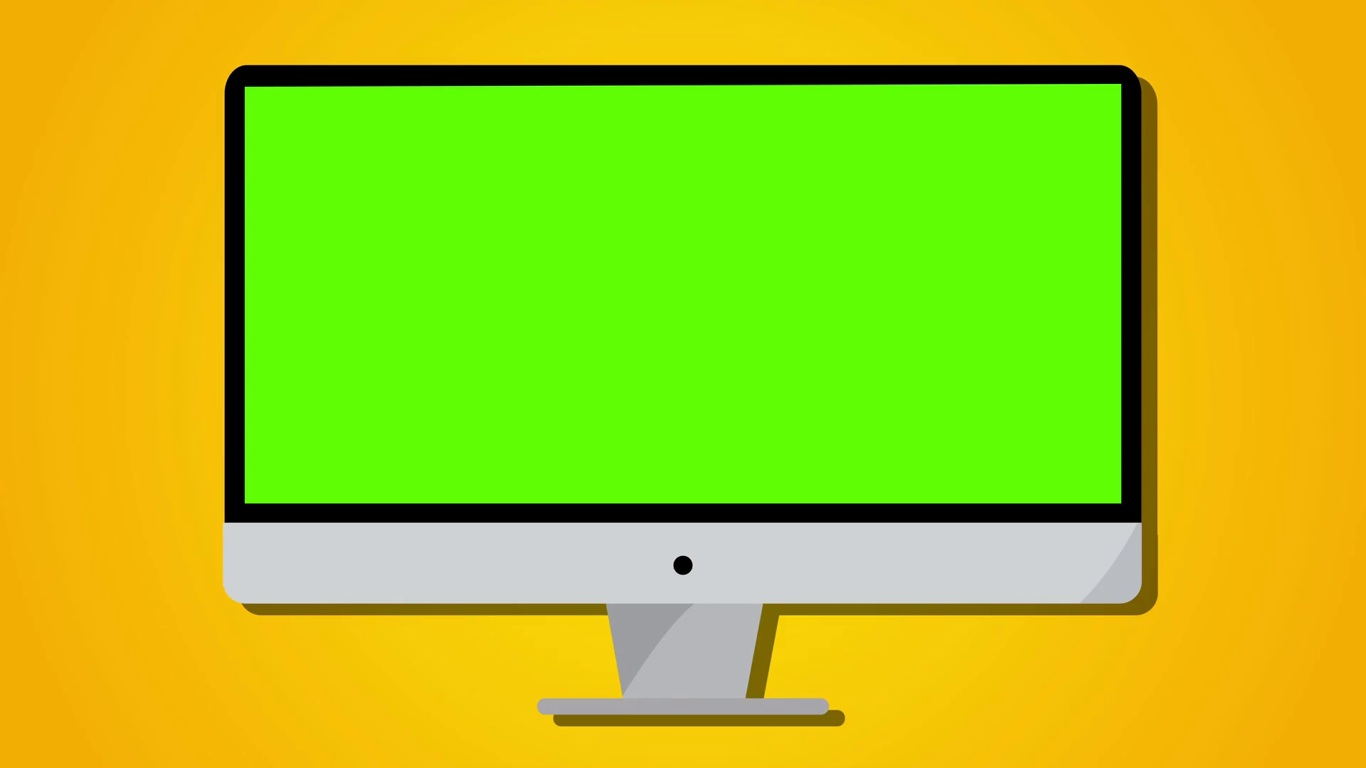 Green screen clipart video royalty free library Computer monitor desk top animation with static in to green screen, keyable  Motion Background - Storyblocks Video royalty free library