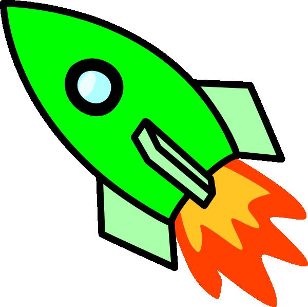 Green ship clipart clip royalty free stock Green Rocket Clip Art at Clker.com - vector clip art online, royalty ... clip royalty free stock