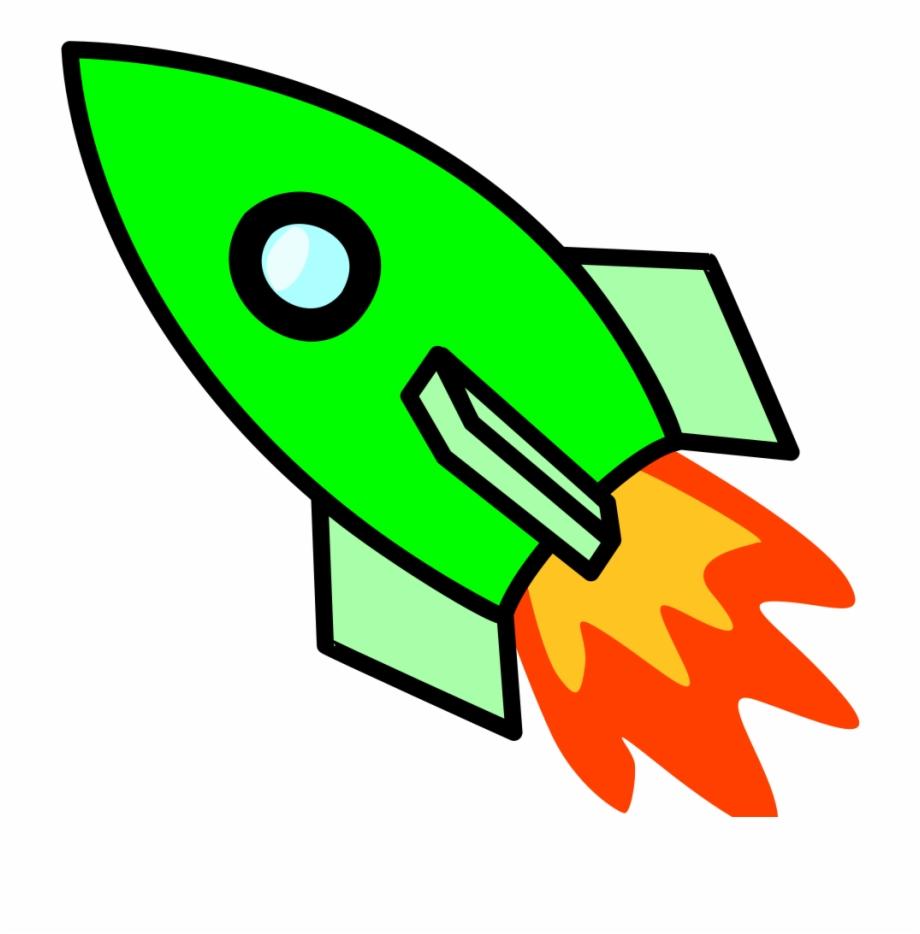 Green ship clipart vector freeuse download Green Left-facing Rocket Ship - Rocket Clip Art Free PNG Images ... vector freeuse download