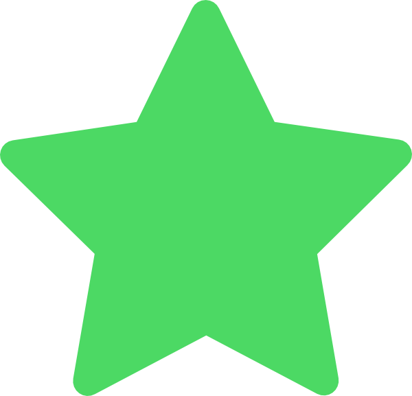 Green star clipart clipart transparent download Star Green Favorite Clip Art at Clker.com - vector clip art online ... clipart transparent download