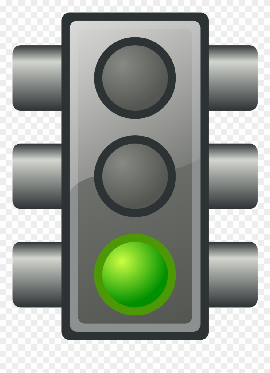 Green stoplight clipart clip freeuse download Green Traffic Light - Green Traffic Light Clipart - Png Download ... clip freeuse download