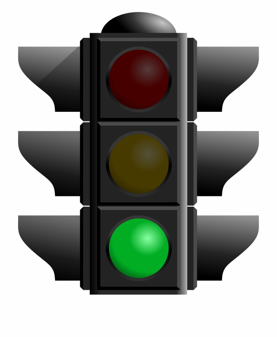 Green stoplight clipart graphic royalty free download Lights Clipart Traffic - Green Light Traffic Light Free PNG Images ... graphic royalty free download