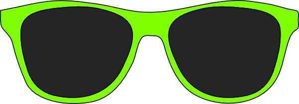 Green sunglasses clipart picture freeuse download Green sunglasses clip art at clker vector – Gclipart.com picture freeuse download