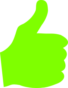 Green thumbs up clipart graphic transparent library Clipart green thumb up - ClipartFest graphic transparent library