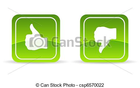 Green thumbs up clipart clipart freeuse stock Clip Art of Green thumbs up and down Icon - High resolution green ... clipart freeuse stock