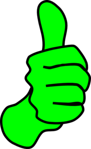Green thumbs up clipart clipart black and white Thumbs Up Green Sand Clip Art at Clker.com - vector clip art ... clipart black and white