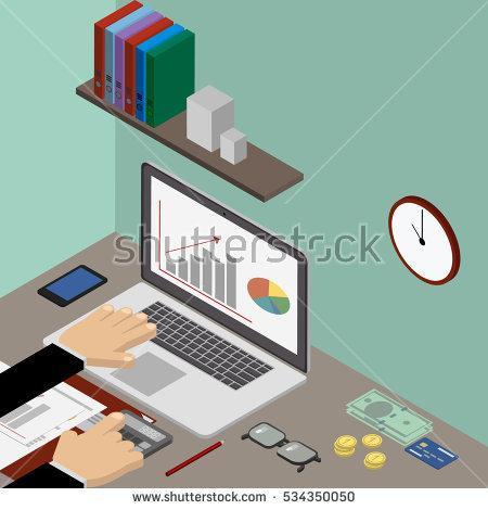Green visor clerk clipart image transparent Accountant Stock Photos, Royalty-Free Images & Vectors - Shutterstock image transparent