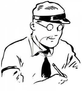Green visor clerk clipart clip black and white library Green visor clerk clipart - ClipartFest clip black and white library