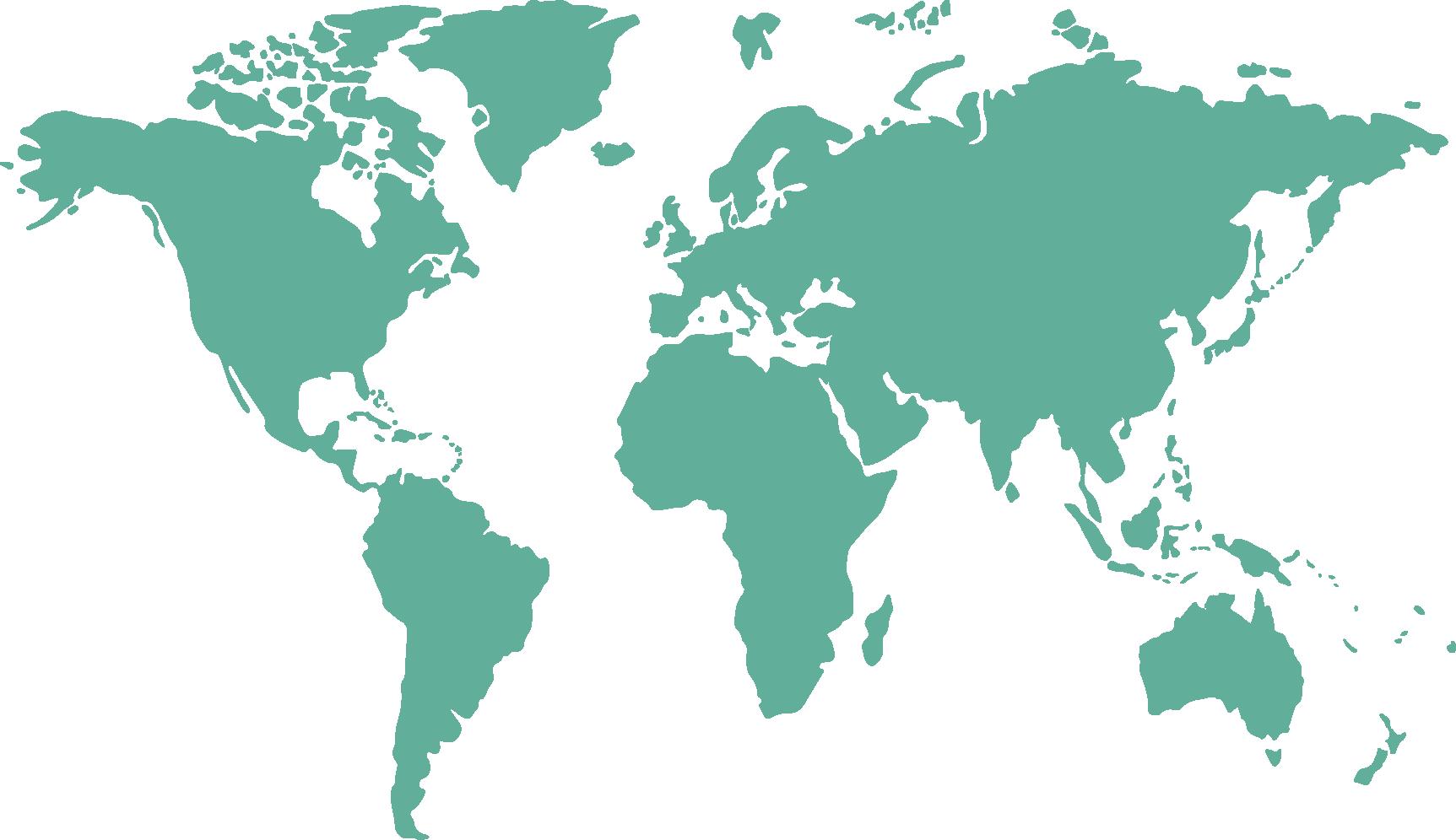 Green world map clipart vector transparent stock Globe World map - Vector green world map png download - 1725*996 ... vector transparent stock