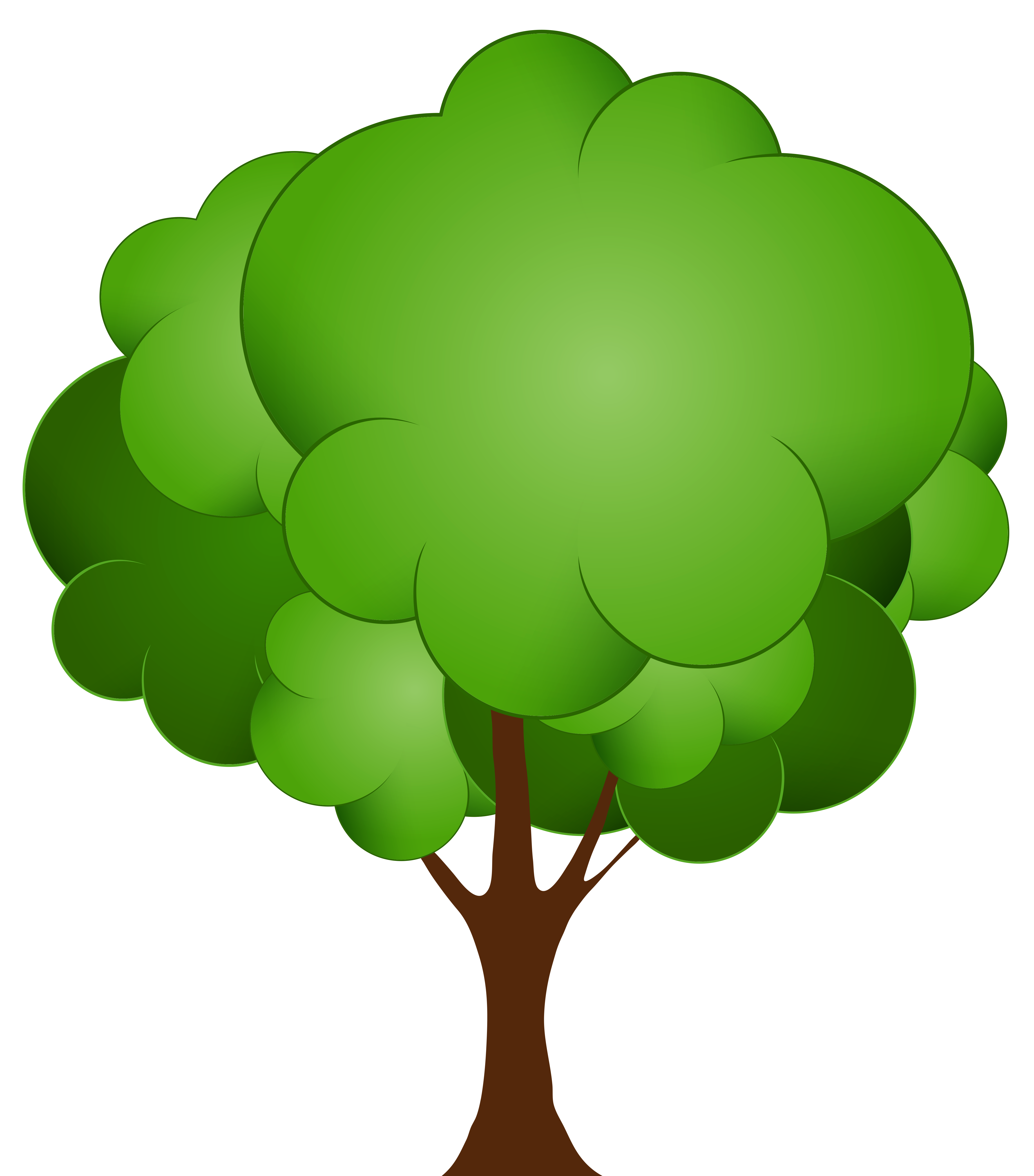 Greentree clipart clipart royalty free stock Green Tree PNG Clip Art - Best WEB Clipart clipart royalty free stock