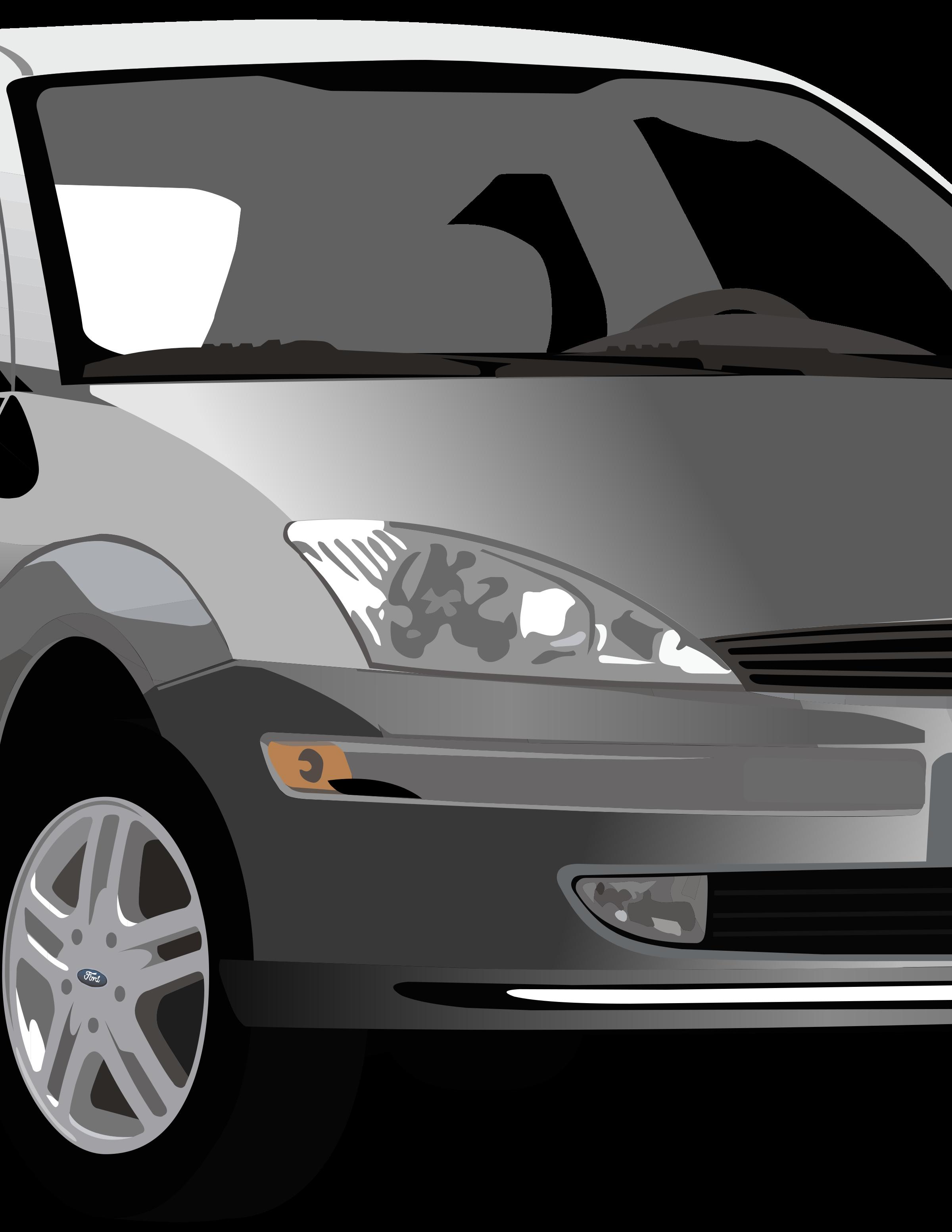 Grey car clipart clip download Clipart - Ford Focus clip download