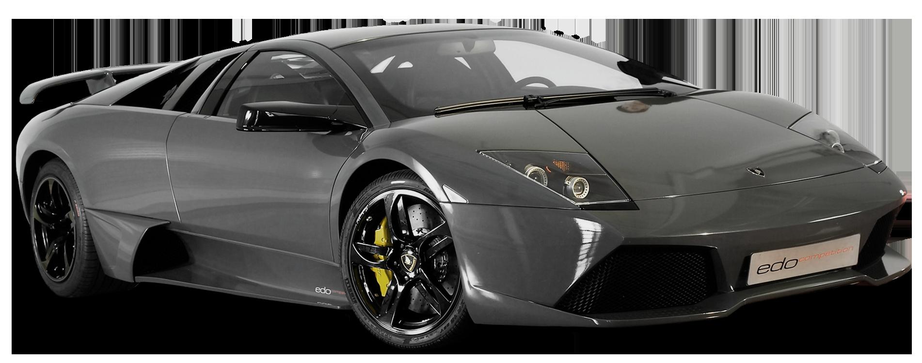 Grey car clipart graphic library stock Lamborghini Edo Competiton Car PNG Clipart - Best WEB Clipart graphic library stock