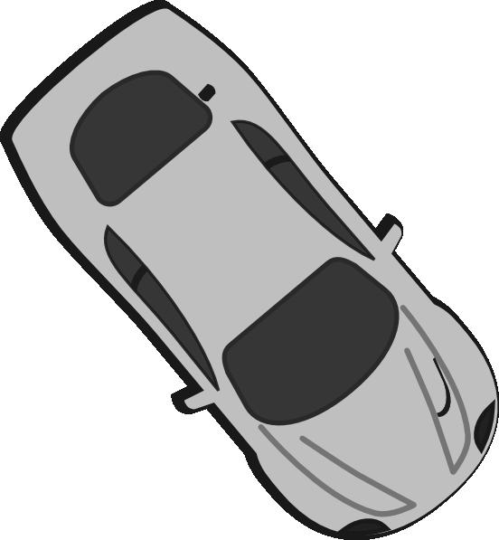 Grey car clipart banner royalty free stock Gray Car - Top View - 310 Clip Art at Clker.com - vector clip art ... banner royalty free stock