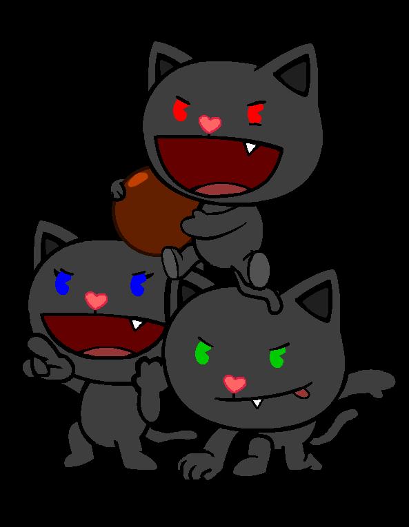 Grey cat with blue eyes clipart jpg download Dark Kittens | Happy Tree Friends Fanon Wiki | FANDOM powered by Wikia jpg download