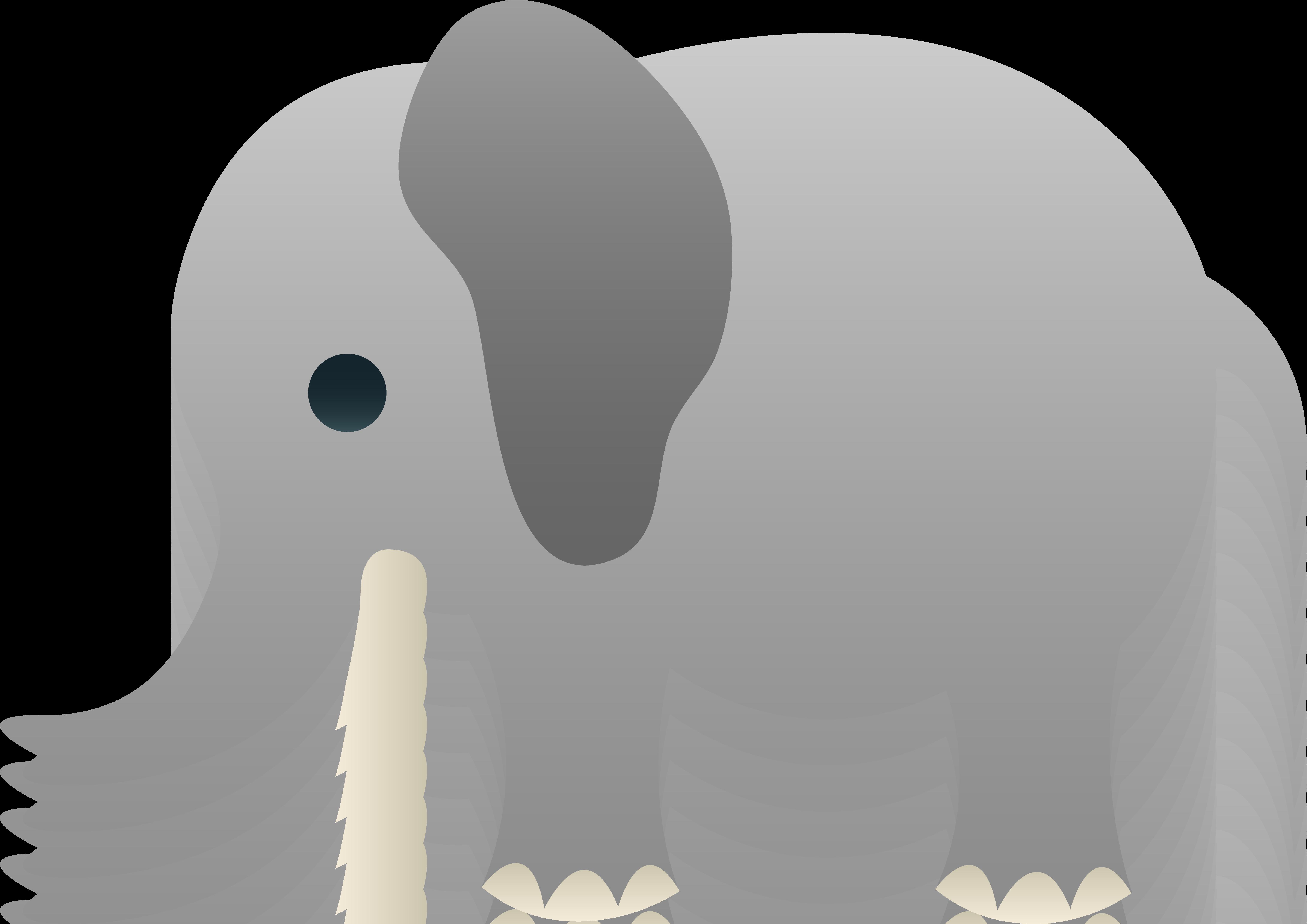 Grey elephant clipart clip art freeuse download Little Gray Elephant Clip Art - Free Clip Art clip art freeuse download